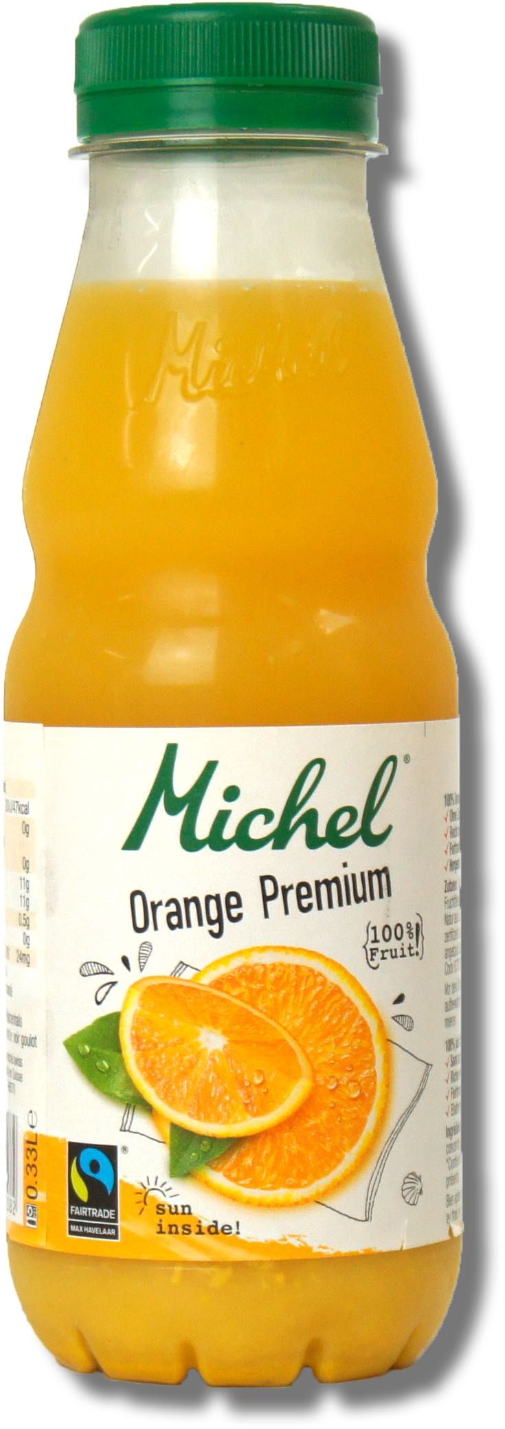 Michel Orange Premium 100%, 3,3dl