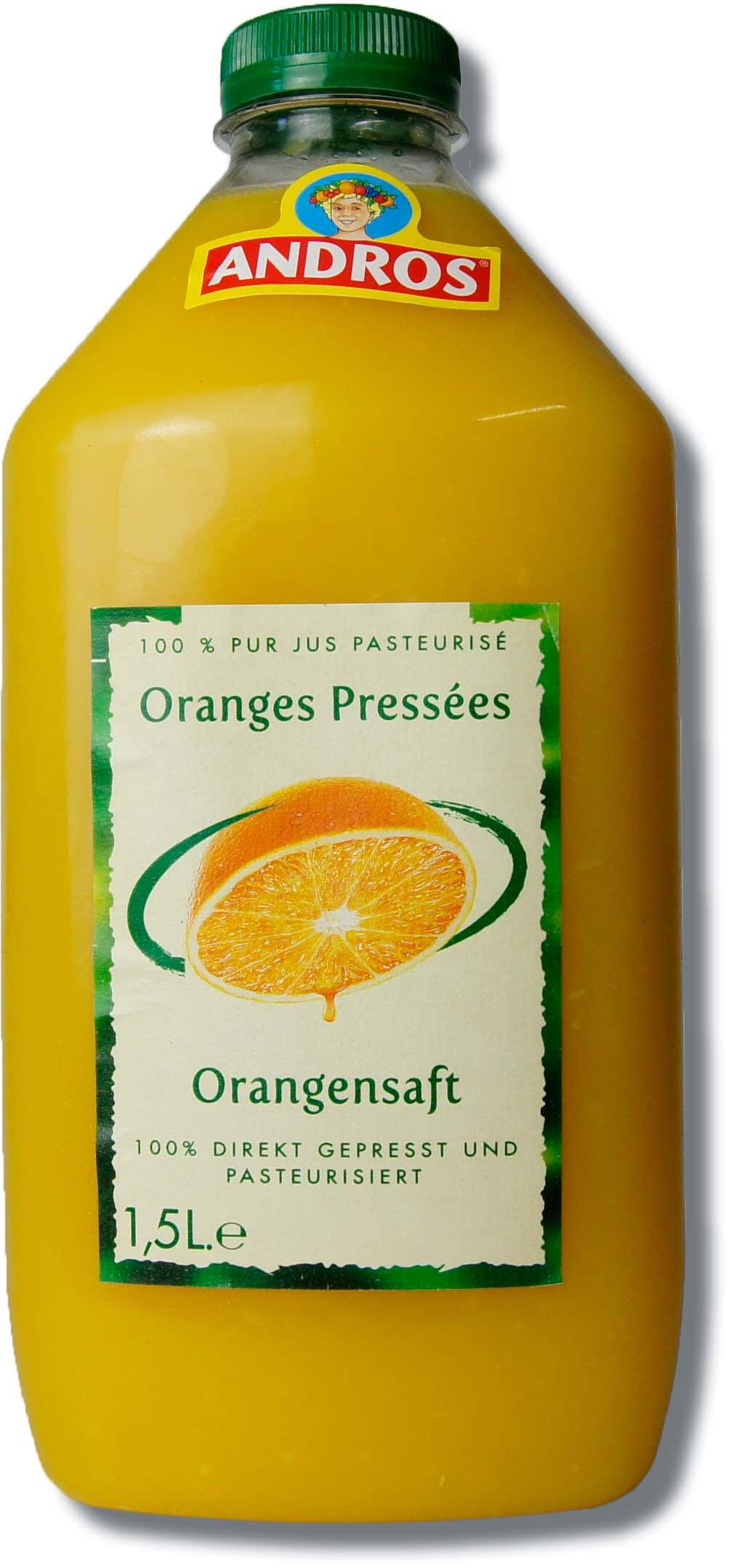 Andros Orangensaft, 1,5lt